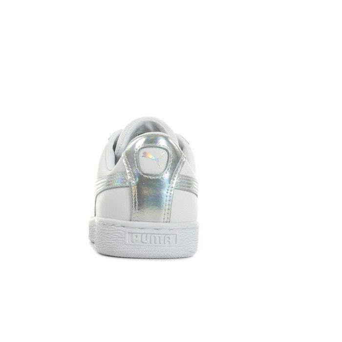Basket heart explosive blanc /argent Puma