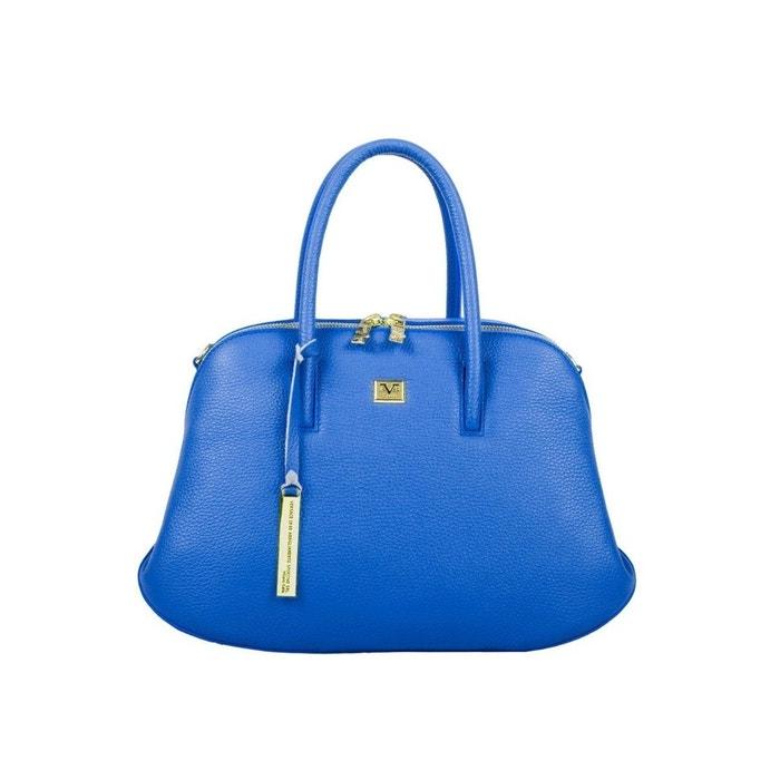Sacs à main cuir bleu modèle alessia Versace 19.69 | La Redoute Acheter Pas Cher Grande Vente Toutes Les Saisons Disponibles woAu05nn6l