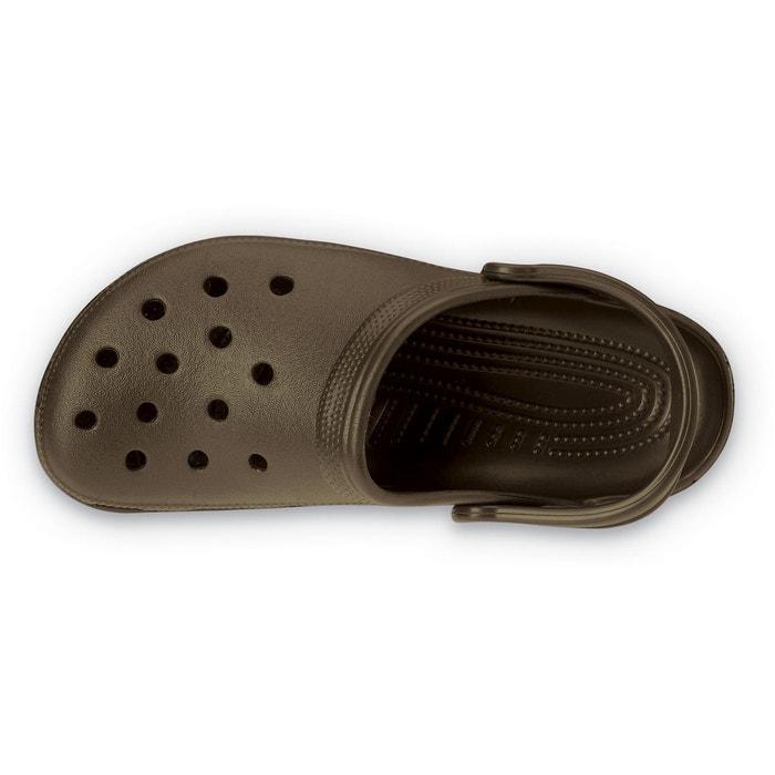 Sabot classic graphic slide chocolat Crocs