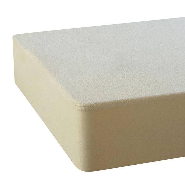 afbeelding Matrasbeschermer in molton en gerecycleerd katoen met Pur Essential® behandeling La Redoute Interieurs