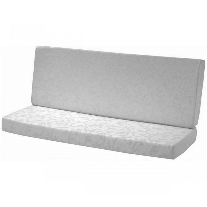 matelas clic clac mousse cotonois fameux 130x190 gris terre de nuit la redoute. Black Bedroom Furniture Sets. Home Design Ideas