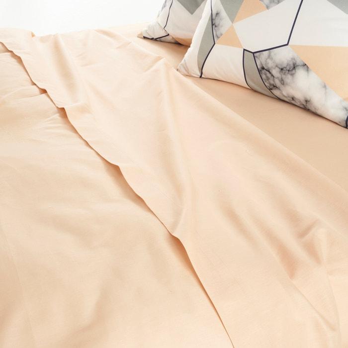 Drap pur coton tucene la redoute interieurs la redoute - La redoute linge de lit ...