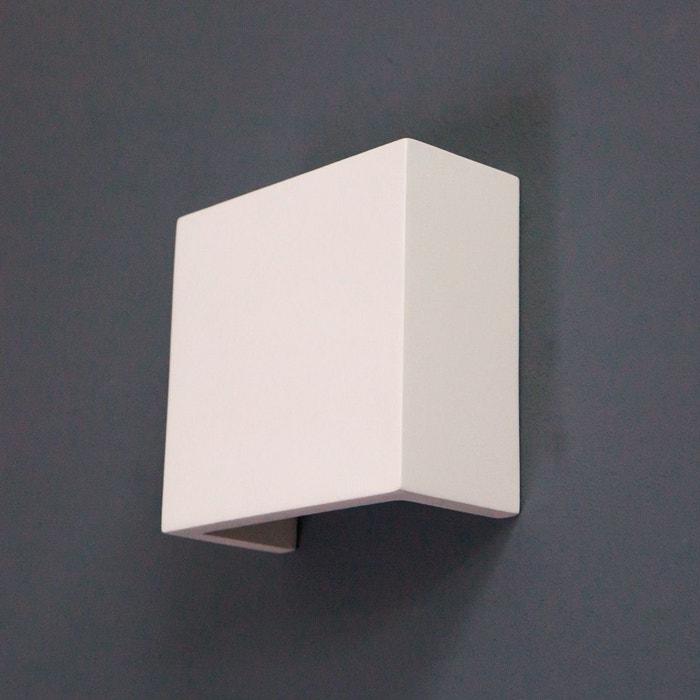 applique led fabiola en pl tre blanc lampenwelt la redoute. Black Bedroom Furniture Sets. Home Design Ideas