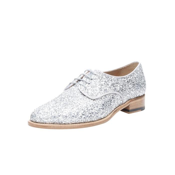 Jeu Confortable Shopping En Ligne Derby en argenté argent Shoepassion Vente En Ligne Avec La Vente De Carte De Crédit En Ligne cb0rqMN6w