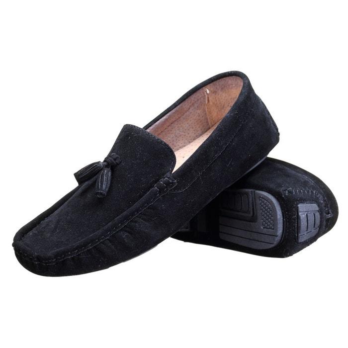 Chaussure derbie à pompoms noir Reservoir Shoes