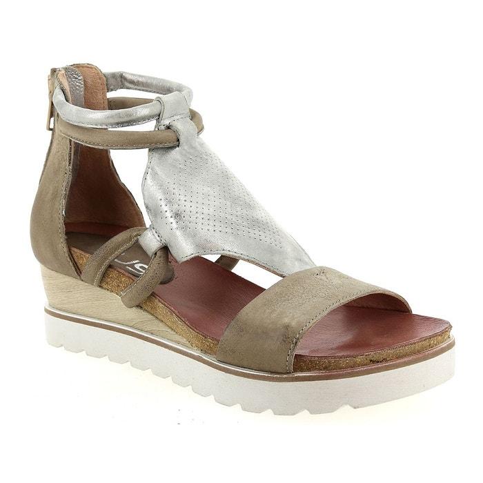 Sandales et nu-pieds mjus 221036  taupe Mjus  La Redoute