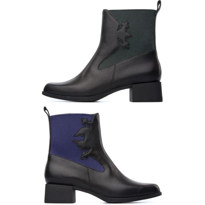 Twins k400113-001 bottes femme noir Camper