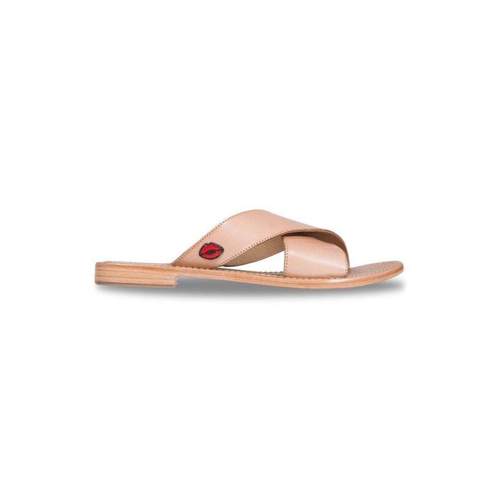 Bons Baisers De Paname Mules MARCELLA NUDE NUDE - Chaussures Sandale Femme