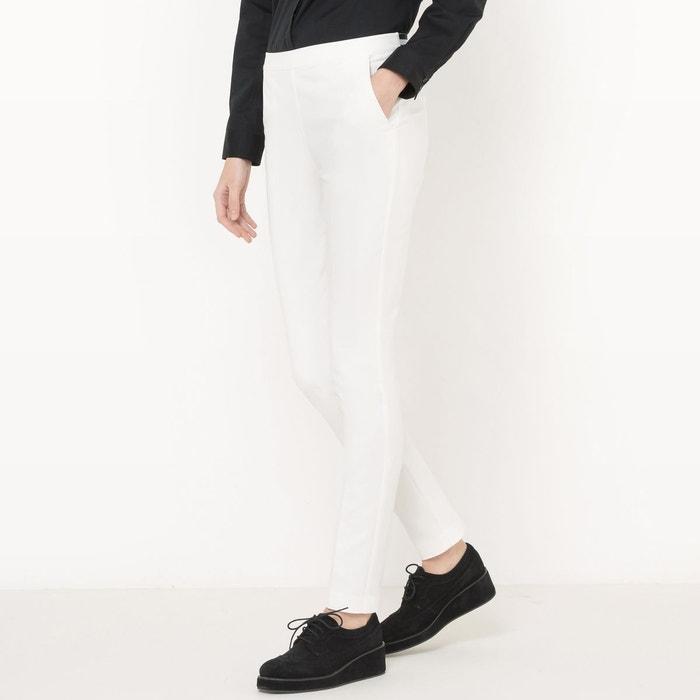 Pantalon droit descendue, basse La Redoute Collections