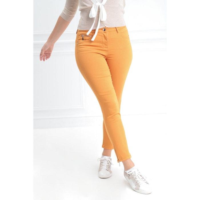 Pantalon ajusté taille haute