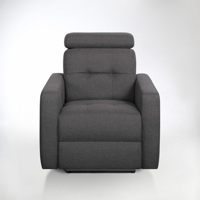 Image Fauteuil de relaxation manuel Julema en tissu chiné La Redoute Interieurs