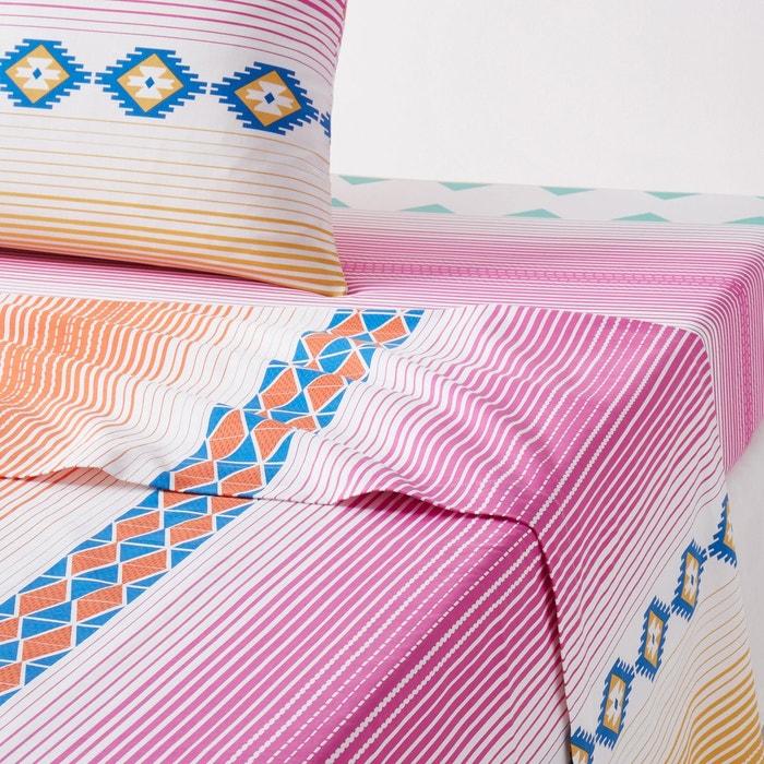 drap housse pur coton brazos la redoute interieurs la redoute. Black Bedroom Furniture Sets. Home Design Ideas