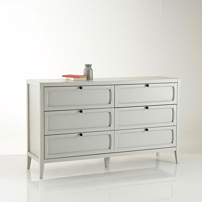 commode 6 tiroirs eug nie la redoute interieurs la redoute. Black Bedroom Furniture Sets. Home Design Ideas