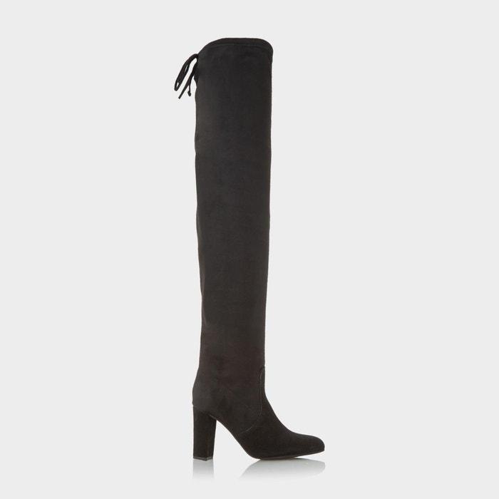 Block heel over the knee boot Liquidation Usine Sortie D'usine De Prix Pas Cher 9IMe5l