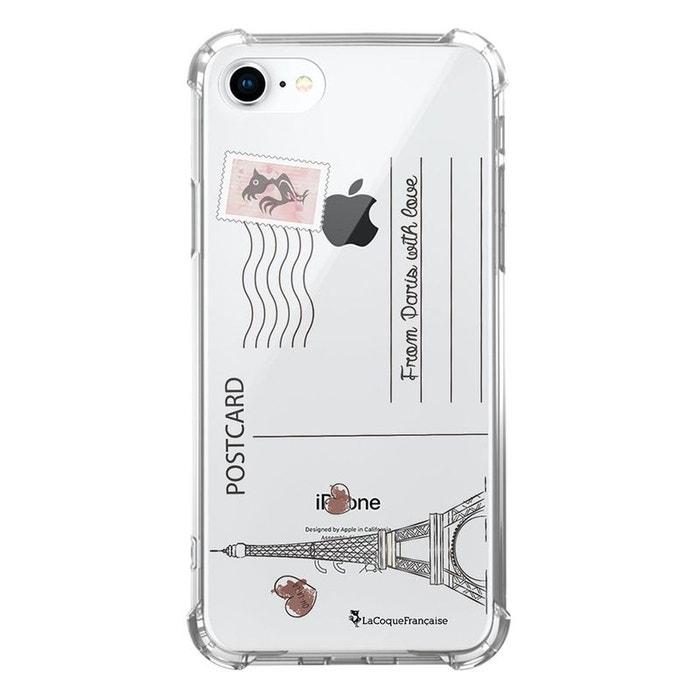 Coque iPhone 7/8 silicone anti-choc souple avec angles renforcés transparente