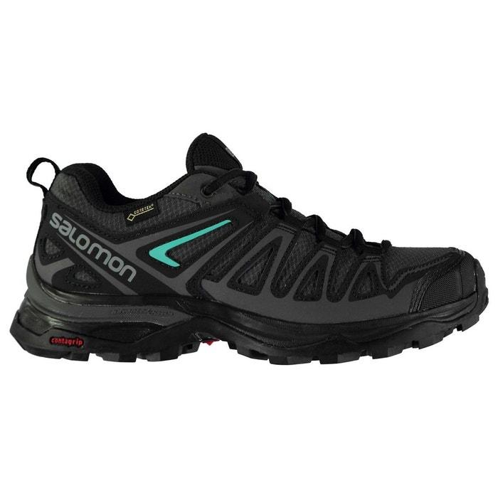 a0dbd0d1b0861 Chaussures de marche imperméables magnet noir Salomon