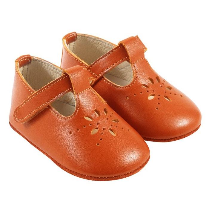 design de qualité 05ef7 7f27b Chaussures bébé cuir souple SALOME