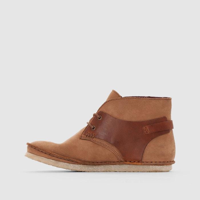 Boots à lacets mystimix camel Kickers