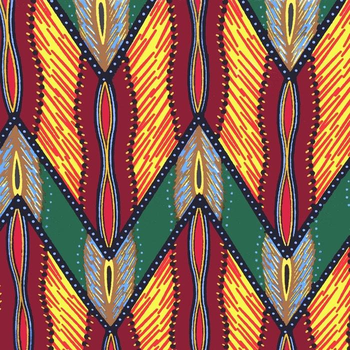 Espadrilles mixtes en wax multicolore La Brousse