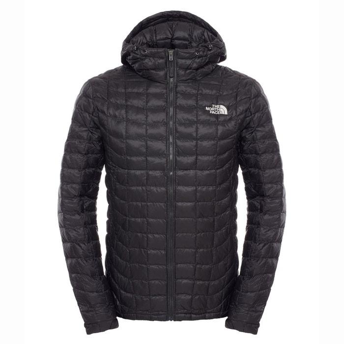20c85ca40b Veste matelassée à capuche thermoball® hoodie noir The North Face | La  Redoute