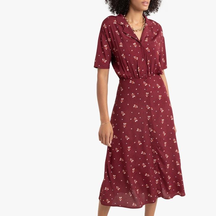 Платье-рубашка длинное с рисунком  LA REDOUTE COLLECTIONS image 0