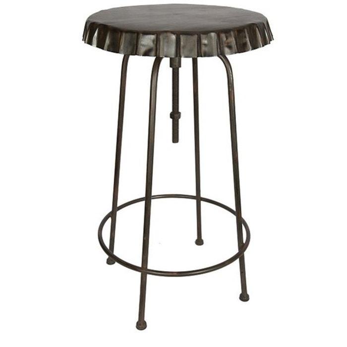 Table haute capsule antic line cr ations la redoute - Table haute la redoute ...