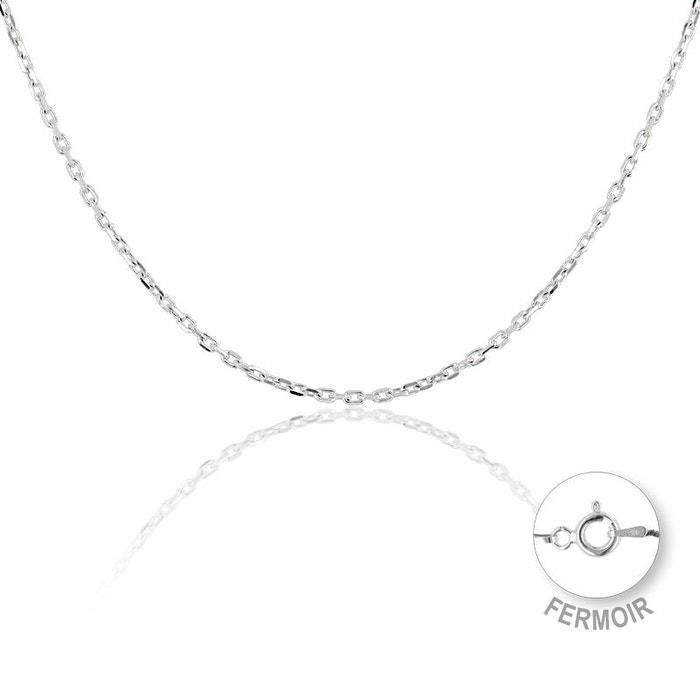 Collier argent 925/1000 blanc Cleor | La Redoute Prix D'usine wUdw3la