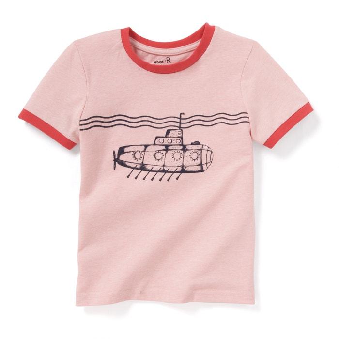 """Image T-shirt imprimé """"sous-marin"""" 3-12 ans La Redoute Collections"""