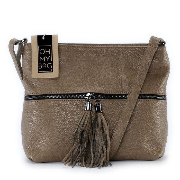Sac à main en cuir london Oh My Bag   La Redoute c22716ac30eb