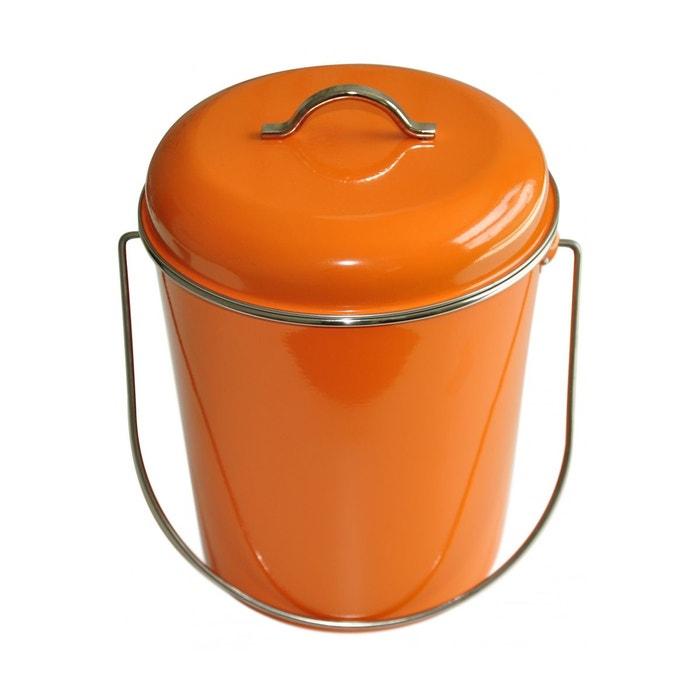 Elegant Poubelle Salle De Bains Ou Cuisine 6 L Waterquest Orange Intérieur Et  Extérieur Orange Laqué   Poignées Et Contour Du Couvercle Chromés  Waterquest | La ...