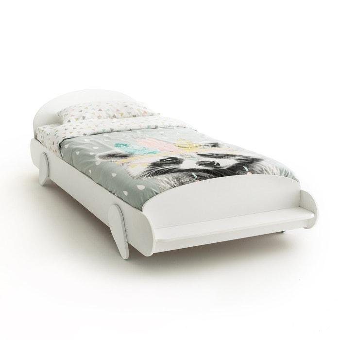lit enfant banc avec sommier nutteo la redoute interieurs blanc la redoute. Black Bedroom Furniture Sets. Home Design Ideas