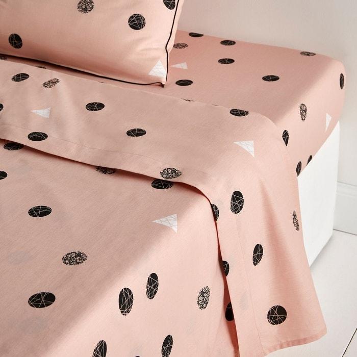 drap plat percale bellvik la redoute interieurs la redoute. Black Bedroom Furniture Sets. Home Design Ideas