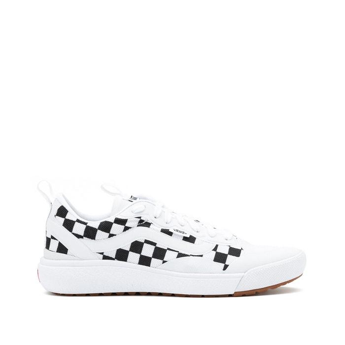 vans blanche noir