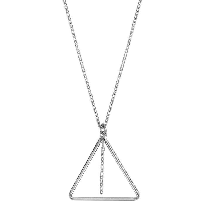 Collier longueur réglable: 42 à 45 cm triangle chaînette argent 925 couleur unique So Chic Bijoux | La Redoute Moins Cher D2QjE