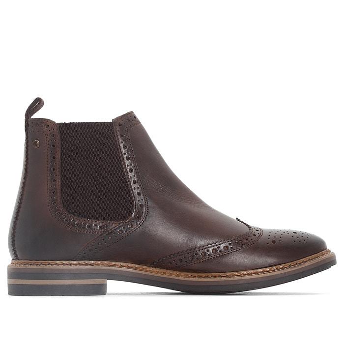 Image Chealsea Boots bout fleuri RILEY BASE LONDON