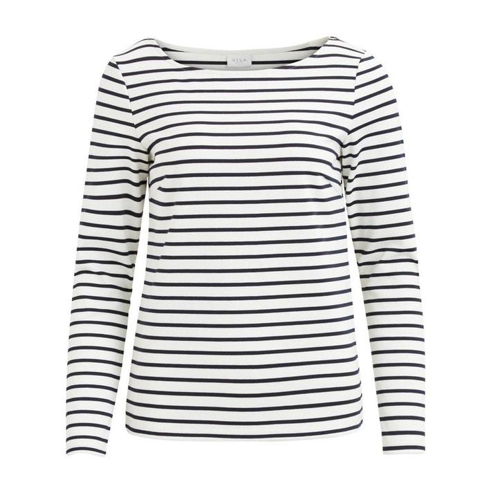 T-shirt scollo rotondo maniche lunghe  VILA image 0