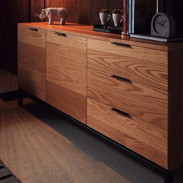 Commode En Bois Manhattan Zendart Selection Marron Creme Zendart
