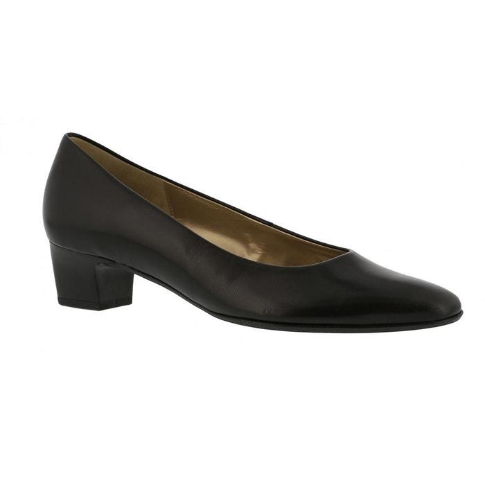 Escarpins best fitting noir Gabor