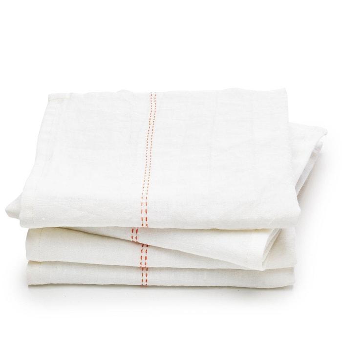 serviette de table pur lin sororal lot de 4 am pm la redoute. Black Bedroom Furniture Sets. Home Design Ideas