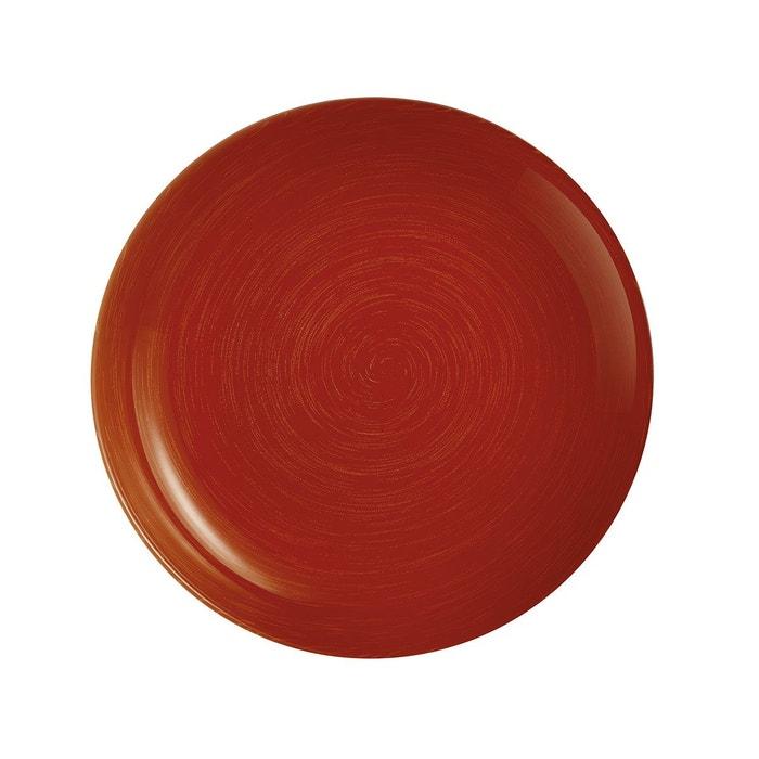 stonemania red assiette creuse 20 cm rouge luminarc la redoute. Black Bedroom Furniture Sets. Home Design Ideas