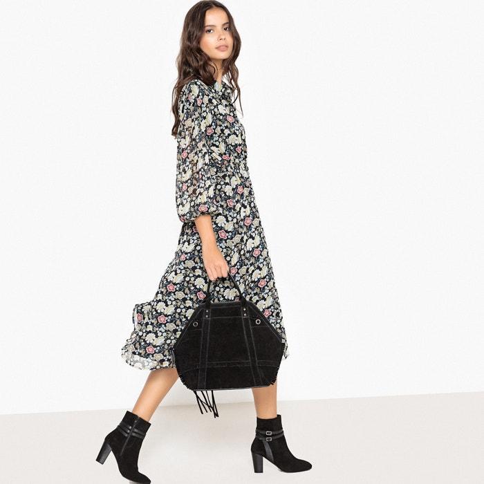 Floral Midi Shirt Dress  La Redoute Collections image 0
