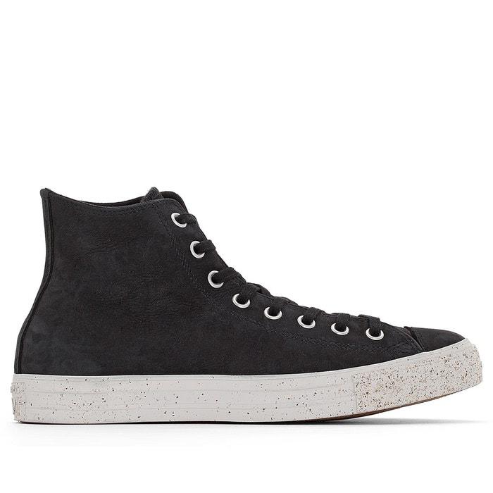 Converse CTAS Hi Leather Limited Edition Chaussures de Sport Noir Noir - Livraison Gratuite avec - Chaussures Basket montante Homme