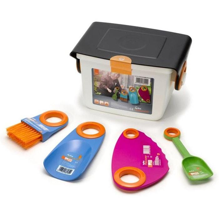 outils de jardinage pour enfants fiskars my first ensemble 4 pi ces couleur unique fiskars. Black Bedroom Furniture Sets. Home Design Ideas