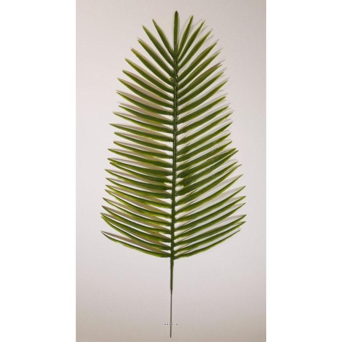 Feuille de palmier phoenix x6 h 51 cm plastique pour for Feuille de palmier deco