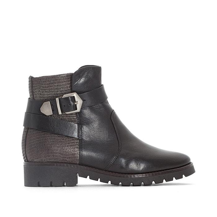 Boots cuir alter noir Mjus Marque Livraison Gratuite Nouveau Unisexe Prix De Sortie Livraison Gratuite Confortable 2018 La Vente En Ligne Vente Pas Cher Offres QEvkgbF