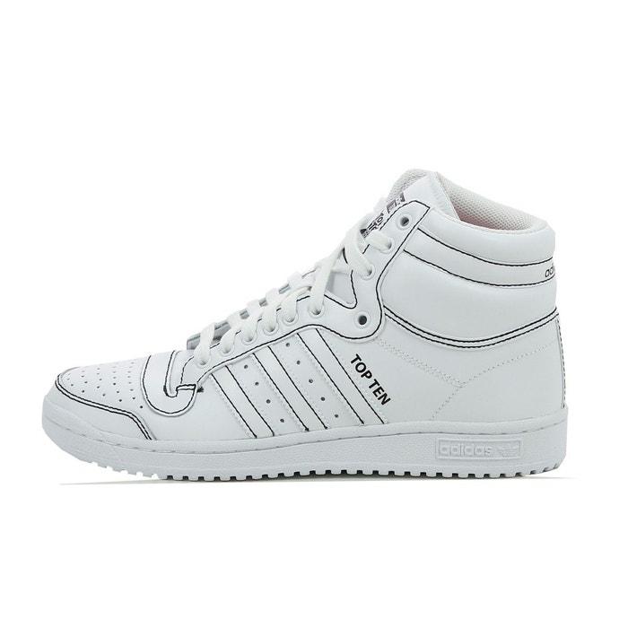 Basket adidas originals top ten high - f37588 blanc Adidas Originals