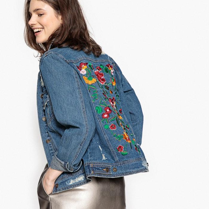 Oversized jeansjacke