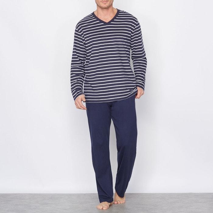Pyjama jersey pur coton CASTALUNA FOR MEN