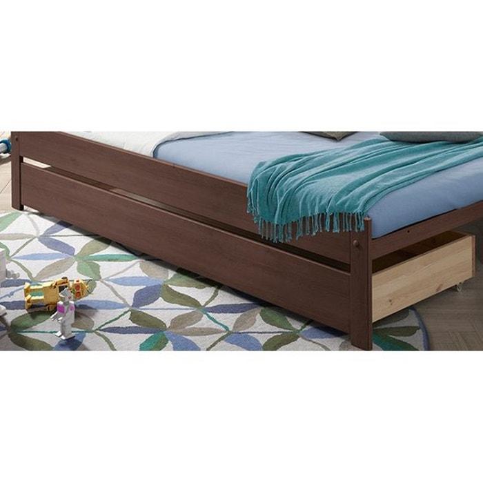 tiroir 185x64x20 pour lit 90x200 leia taupe taupe alfred et compagnie la redoute. Black Bedroom Furniture Sets. Home Design Ideas