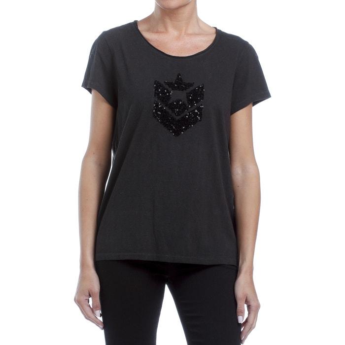 T-shirt met ronde hals, korte mouwen, zecchino's  FREEMAN T. PORTER image 0